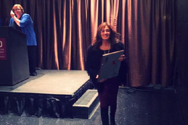 Joan Solomon receives U of M Distinguished Alumni Award